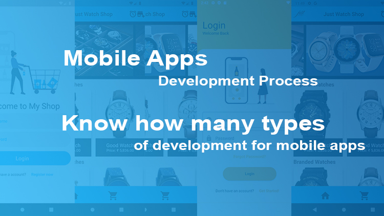 How many process of Mobile Application Development